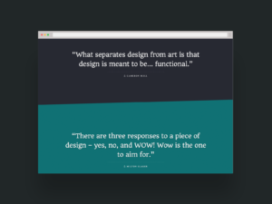 Design Quotes Website