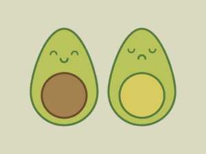 Cute Kawaii Avocados