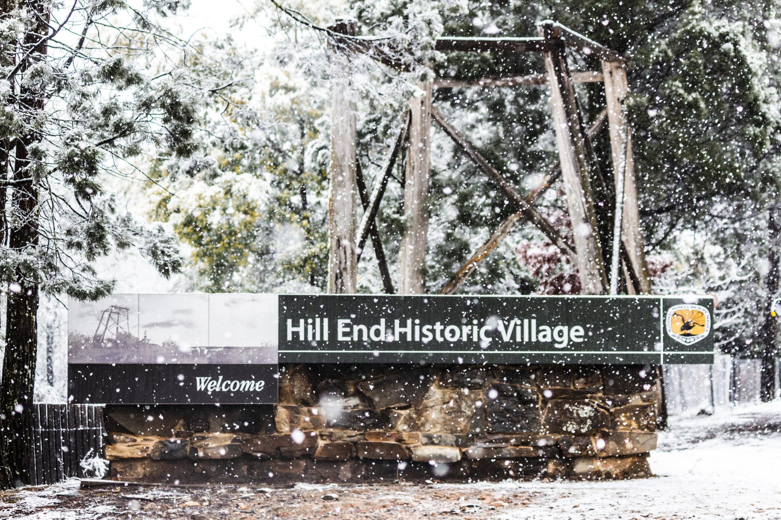 Hill End Snowfall (2019)