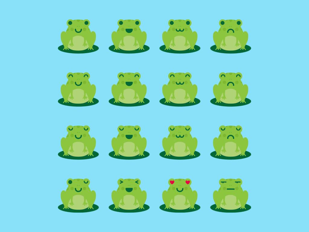 Frog Emoji
