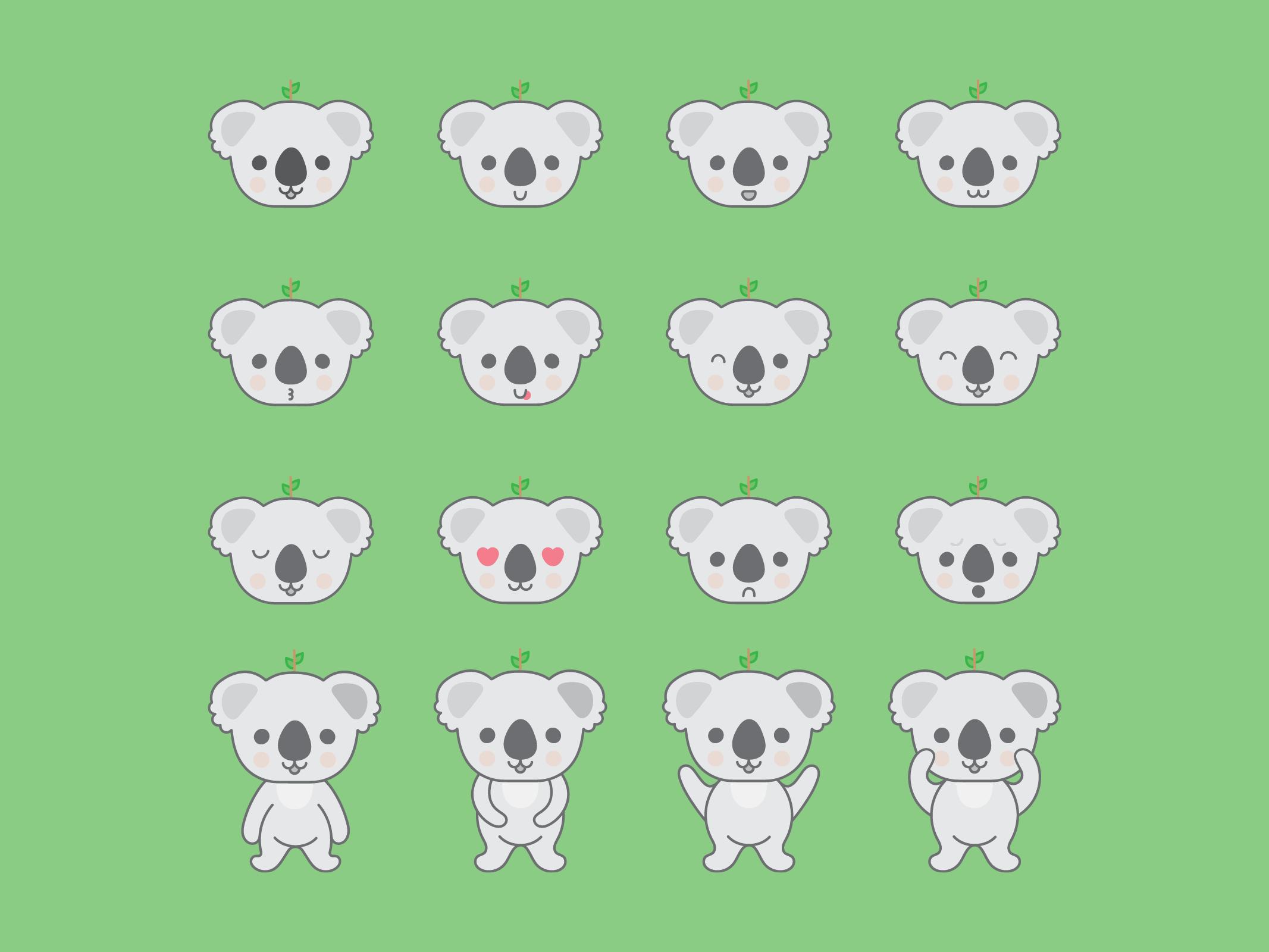 Koala Doodles