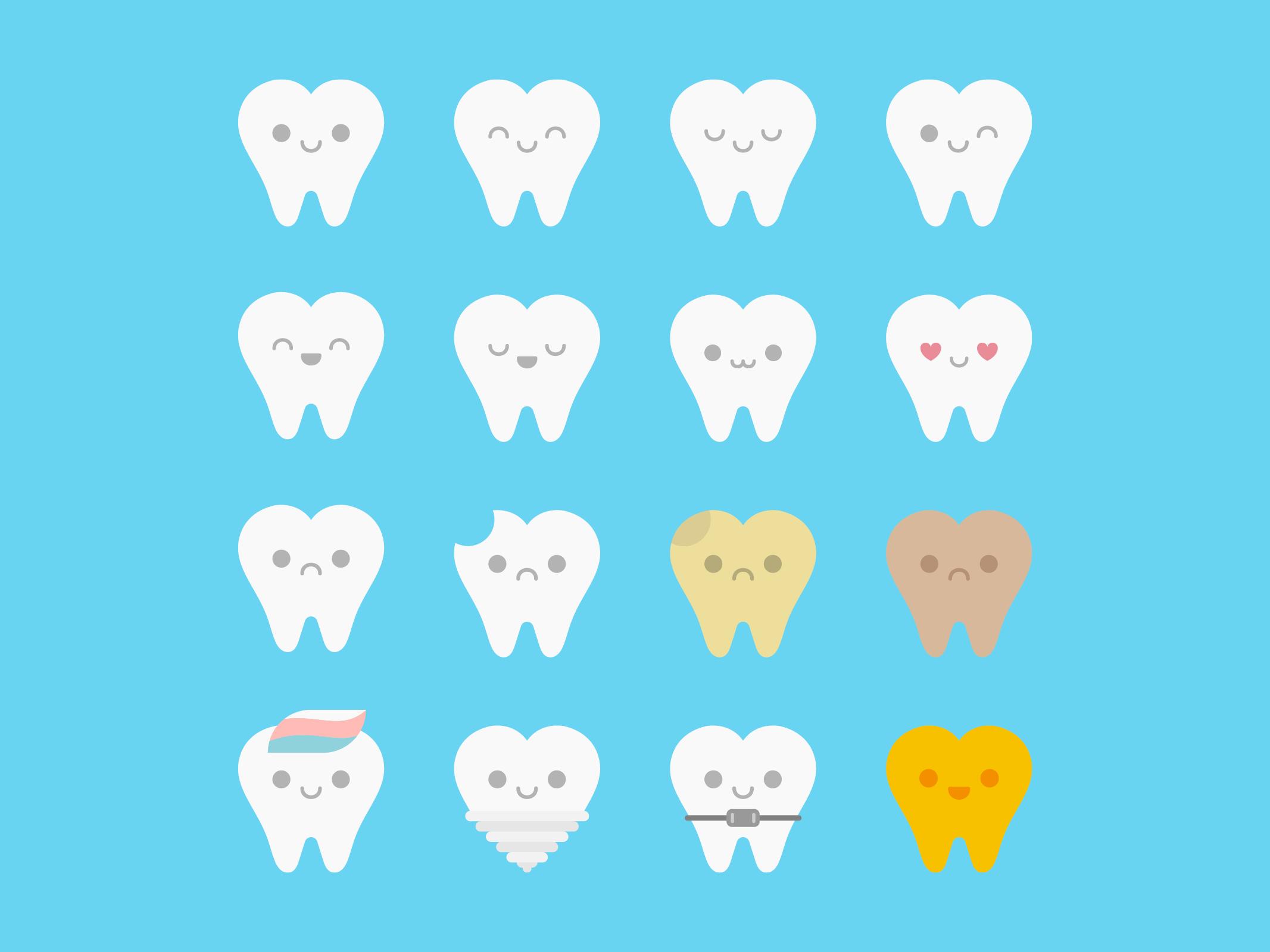 Teeth Emoji