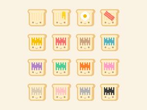 Toast Emoji