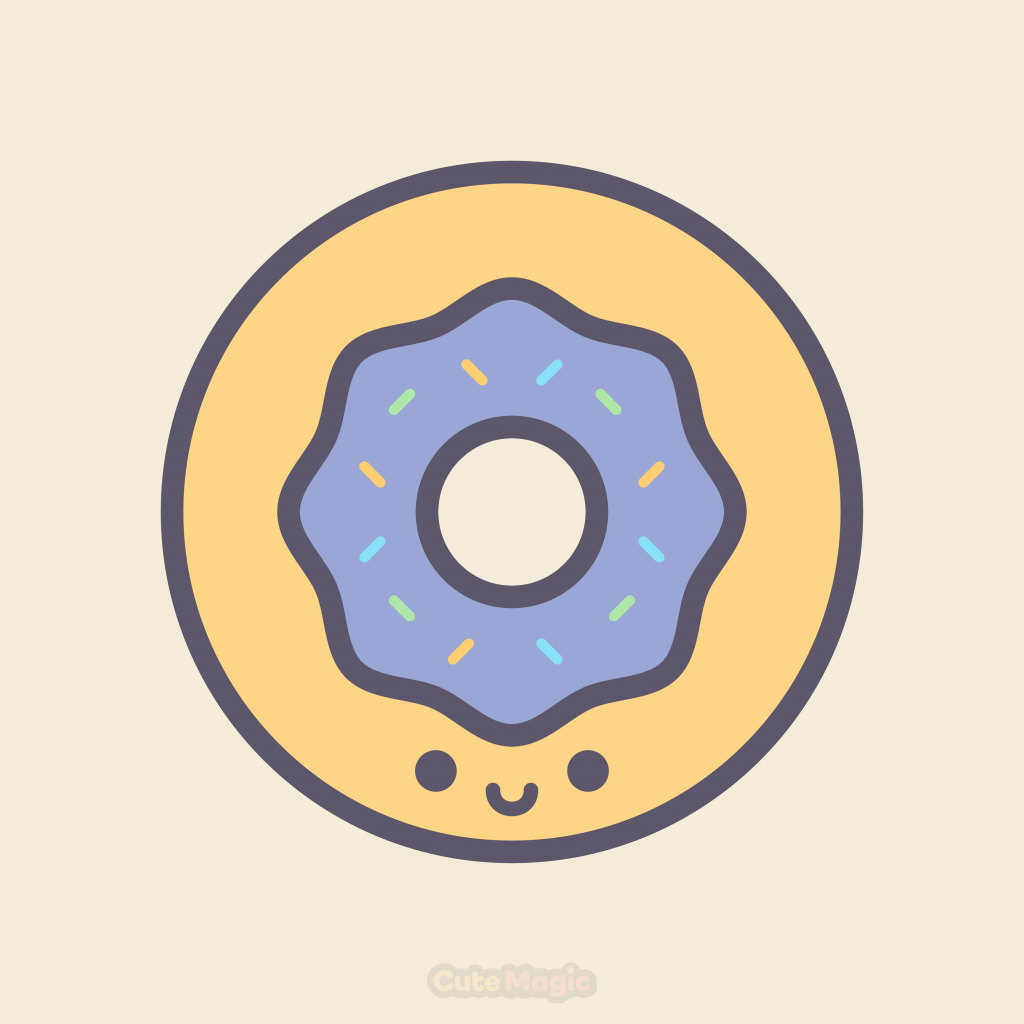 Cute Kawaii Donuts