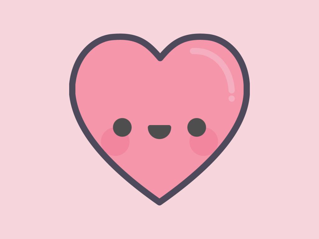 Cute Kawaii Love Heart